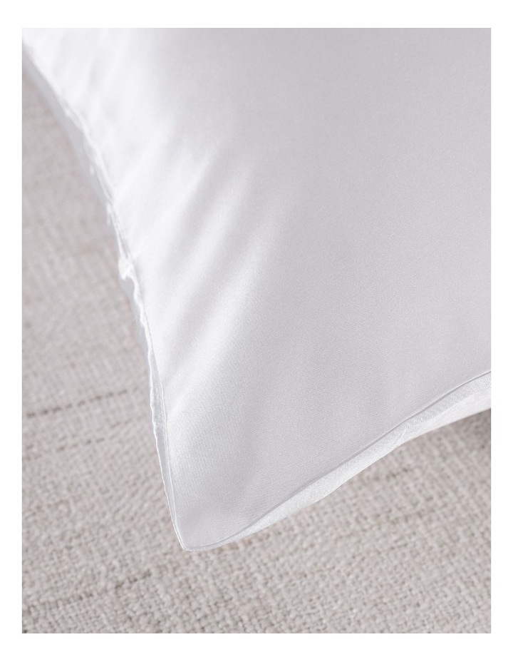 Royal Comfort Mulberry Silk Pillowcase Twin Pack - White image 7