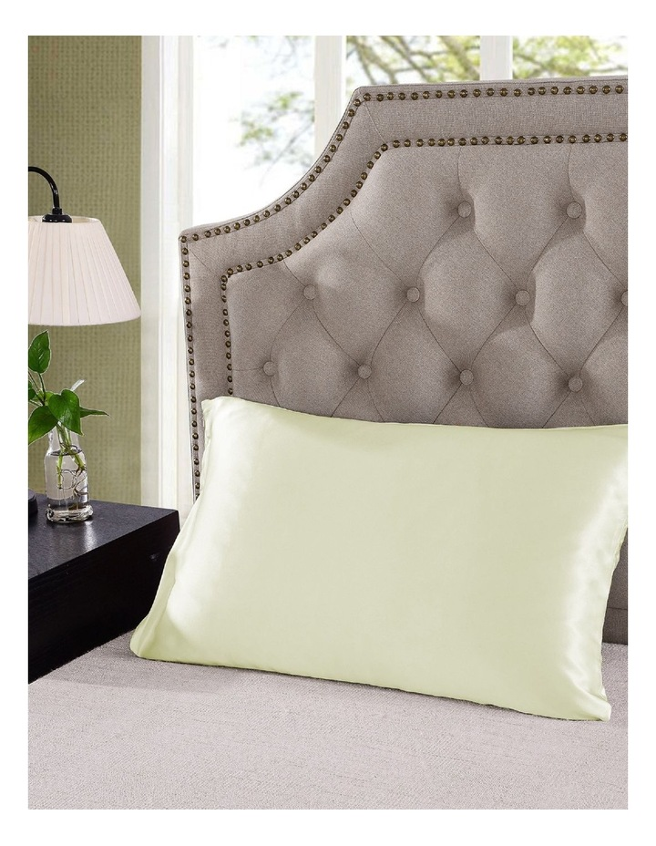 Royal Comfort Mulberry Silk Pillowcase Twin Pack - Ivory image 3