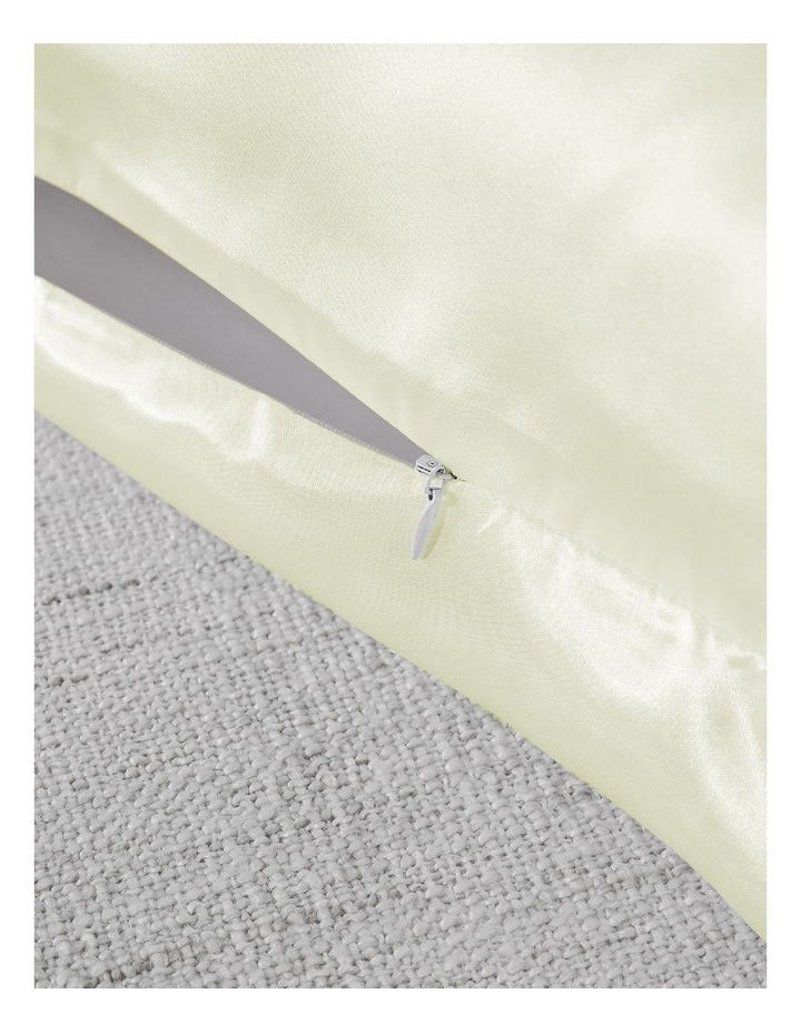 Royal Comfort Mulberry Silk Pillowcase Twin Pack - Ivory image 5
