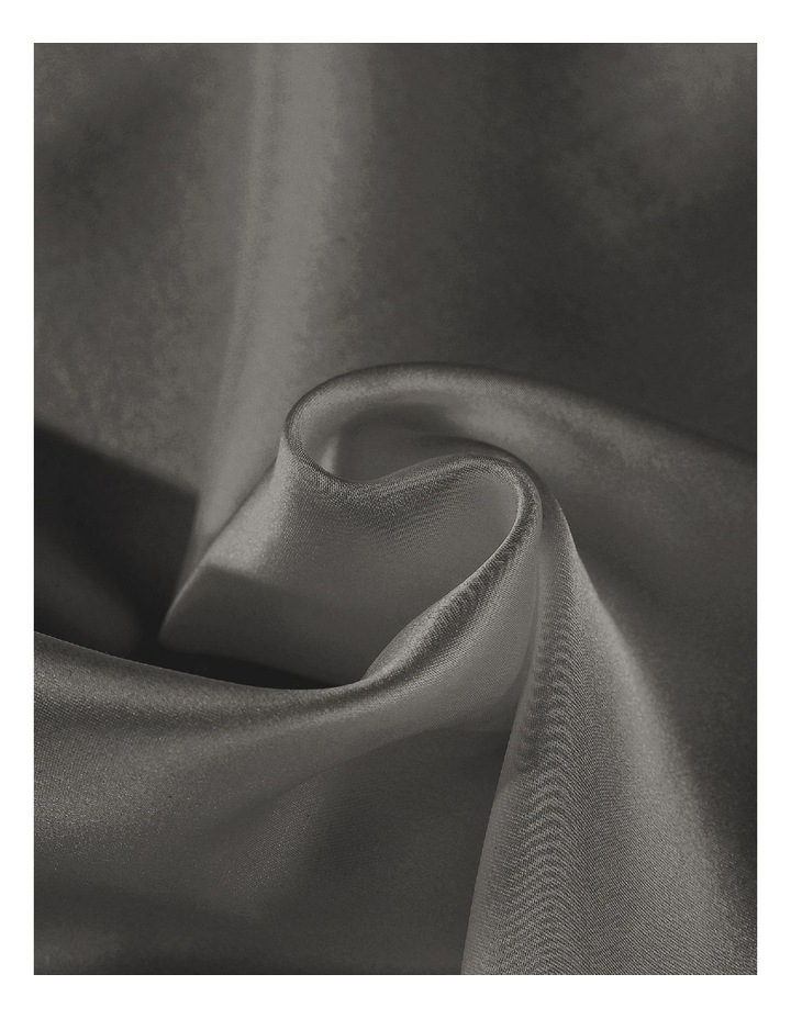 Royal Comfort Mulberry Silk Pillowcase Twin Pack - Charcoal image 2