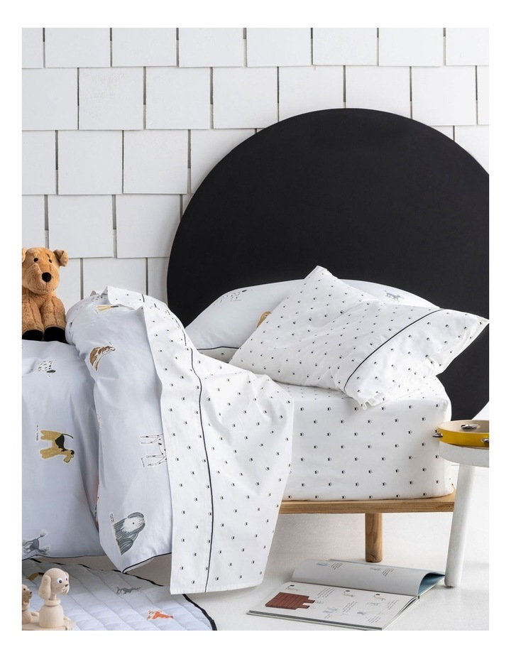 Dogs for Days Sheet Set in Blue image 1