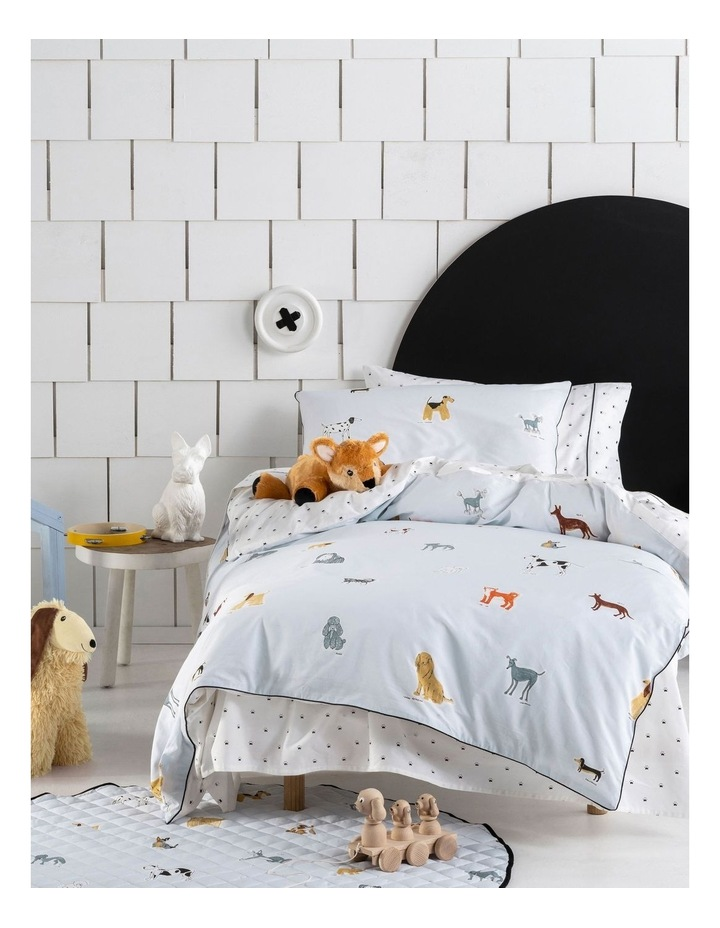 Dogs For Days Quilt Cover Set image 1