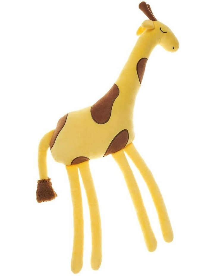 Jafari Giraffe Cushion in Yellow image 1