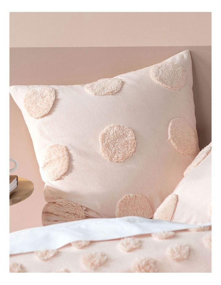Haze Quilt Cover Set in Peach image 6