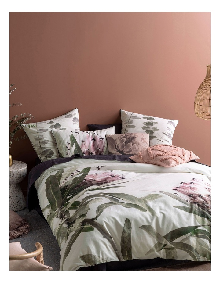 Alice Quilt Cover Set in Blush image 1