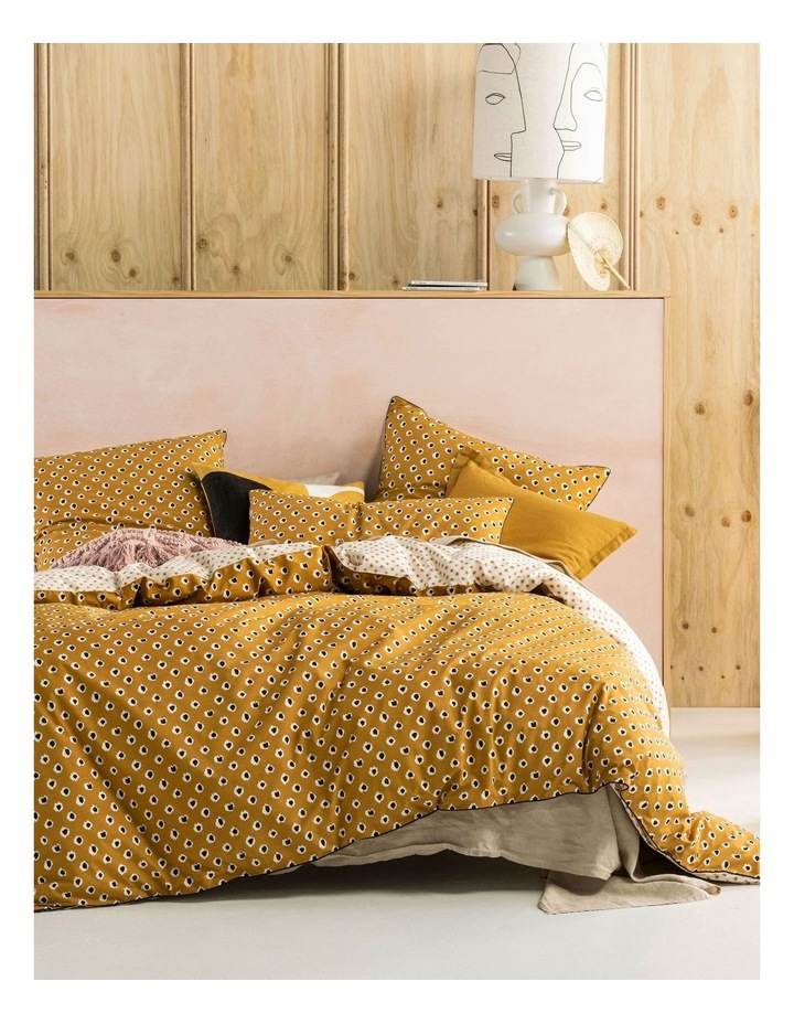 Cleopatra Quilt Cover Set in Mustard image 1