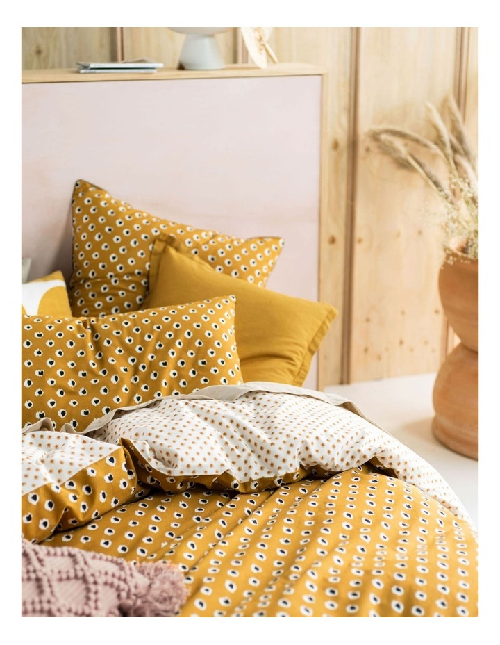 Cleopatra Quilt Cover Set in Mustard image 2