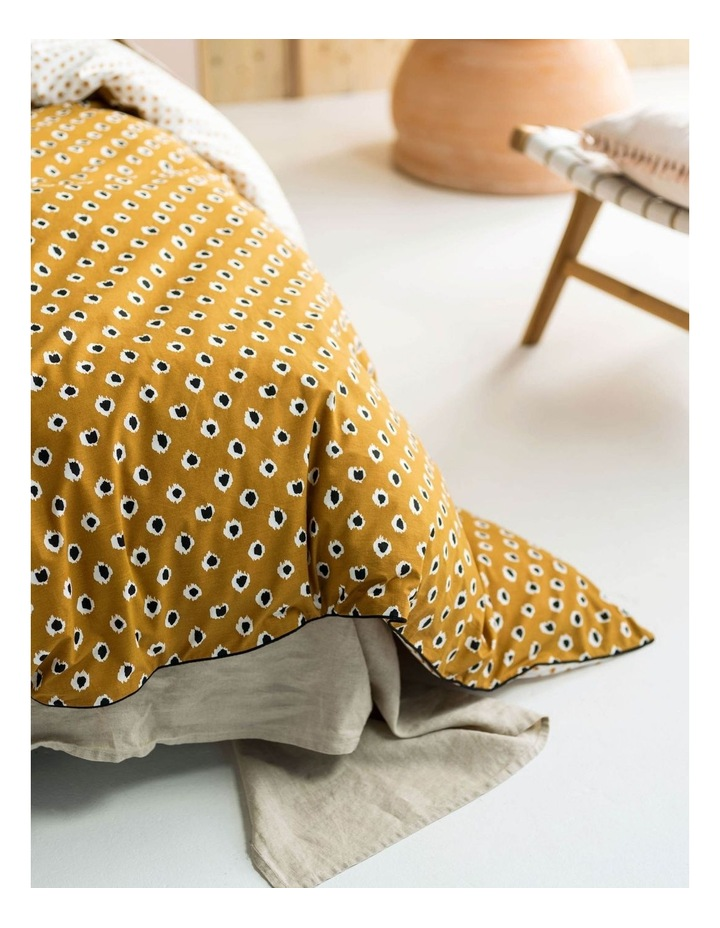 Cleopatra Quilt Cover Set in Mustard image 3