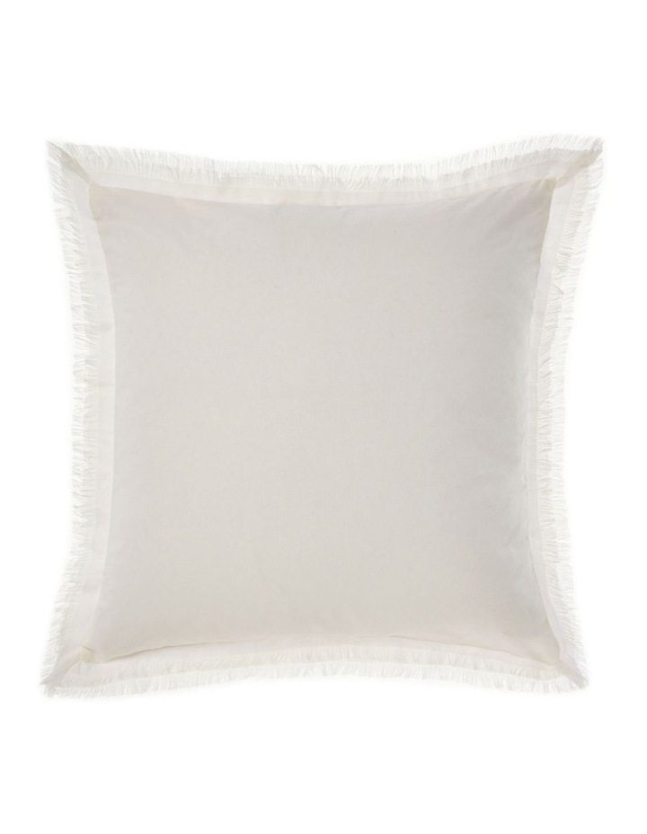 Iliana Quilt Cover Set in White image 2