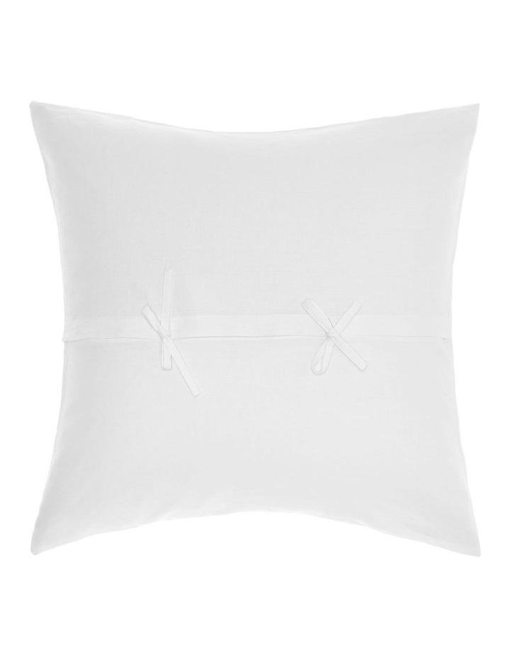 Nimes Quilt Cover Set White image 3