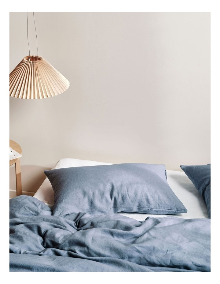 Nimes Linen Quilt Cover Set in Nightfall image 2
