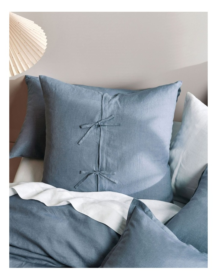 Nimes Linen Quilt Cover Set in Nightfall image 3