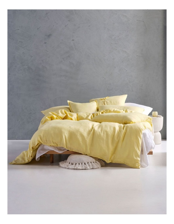 Nimes Linen Quilt Cover Set in Meadow image 1