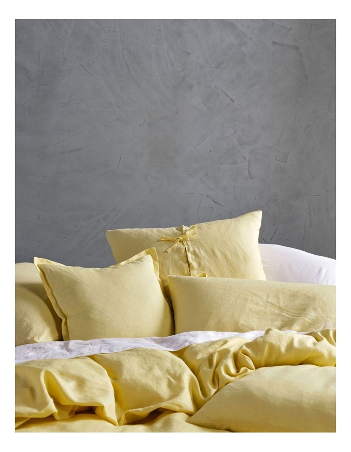 Nimes Linen Quilt Cover Set in Meadow image 2