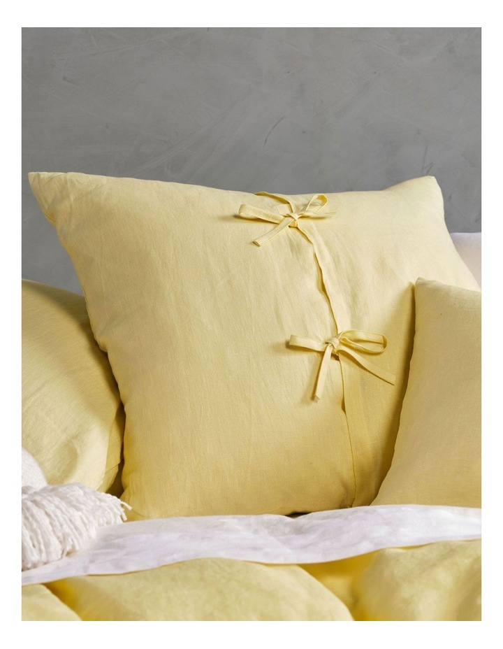Nimes Linen Quilt Cover Set in Meadow image 3