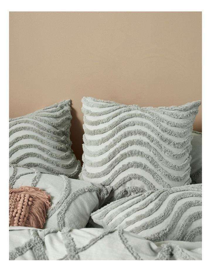 Amadora Quilt Cover Set in Smoke image 2
