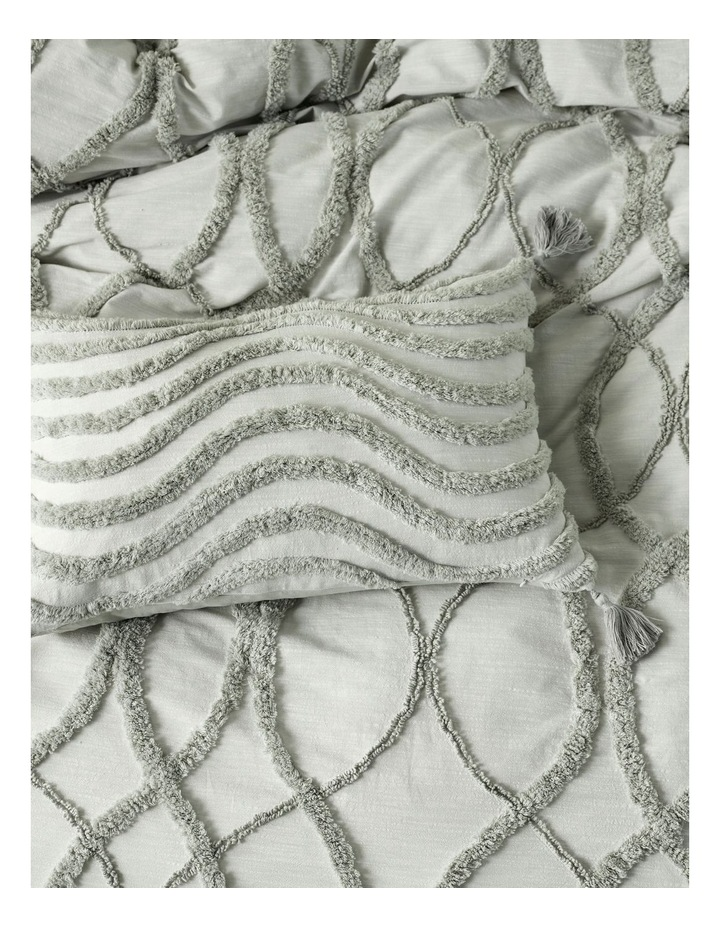 Amadora Quilt Cover Set in Smoke image 4