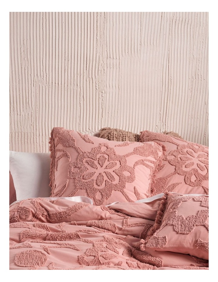 Rapallo Quilt Cover Set in Rose image 2