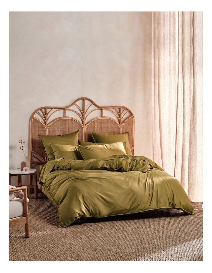 Nara 400Tc Bamboo Cotton Quilt Cover Set image 1
