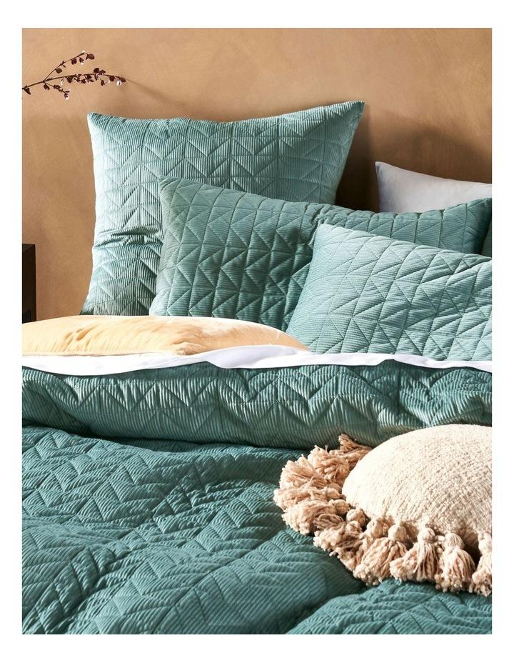 Bridgerton Quilt Cover Set In Surf image 2
