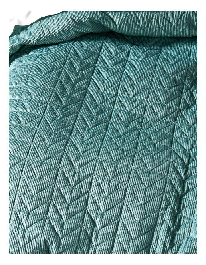 Bridgerton Quilt Cover Set In Surf image 3