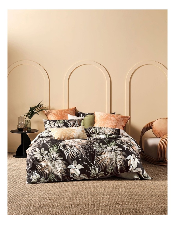 Harlow Quilt Cover Set in Black image 1