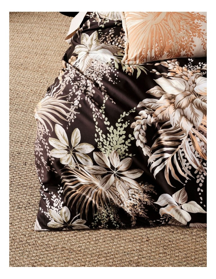 Harlow Quilt Cover Set in Black image 3