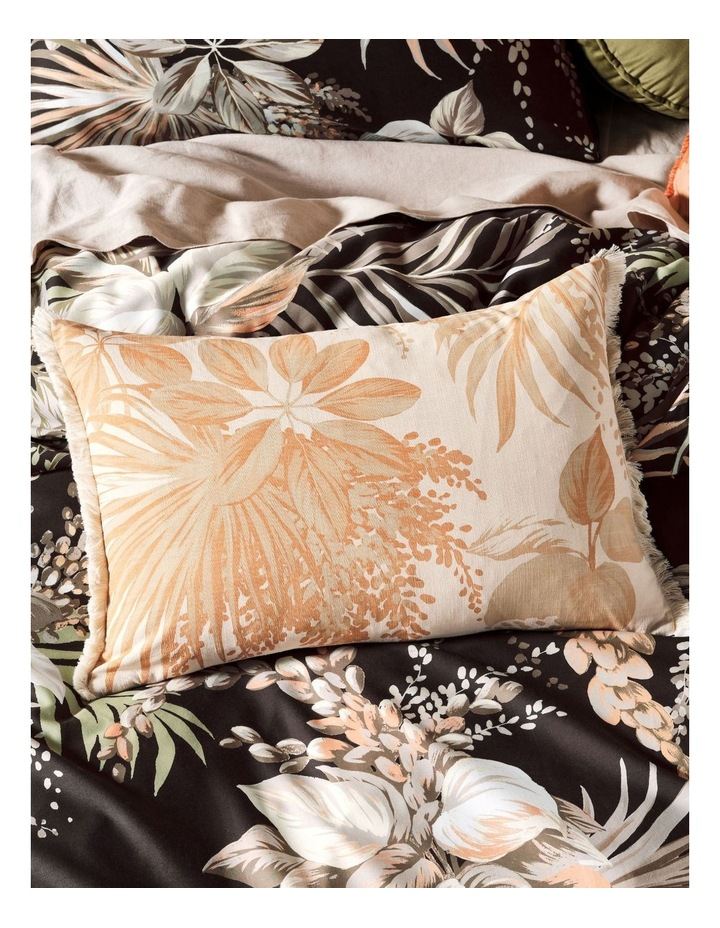 Harlow Quilt Cover Set in Black image 5