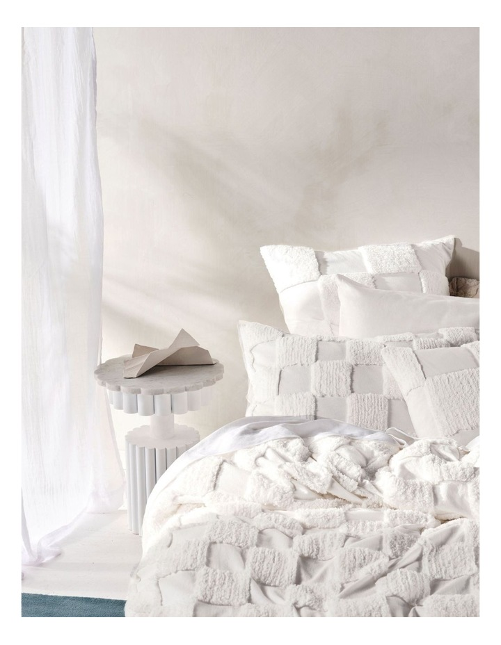 Memphis Quilt Cover Set in White image 2