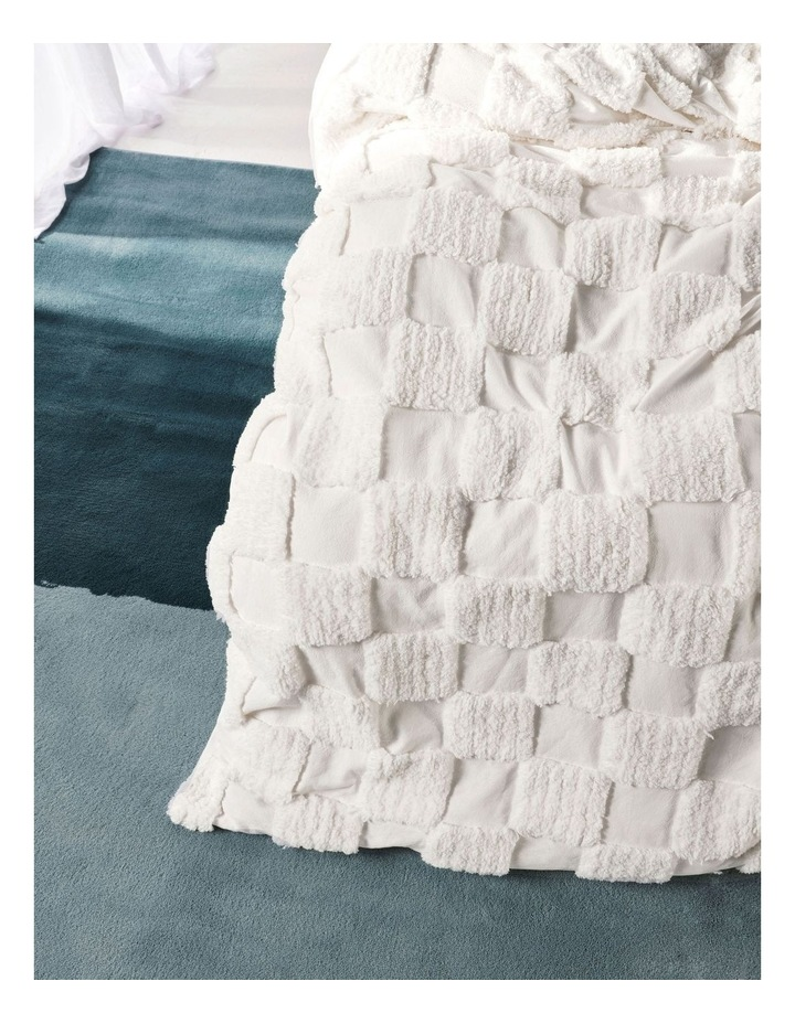 Memphis Quilt Cover Set in White image 3