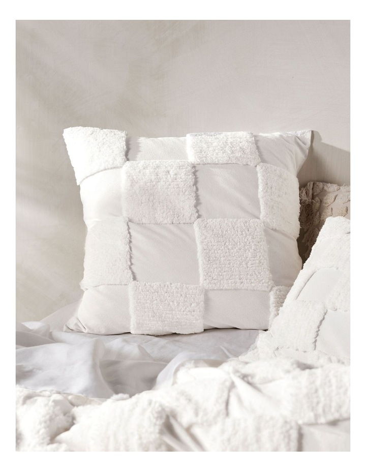 Memphis Quilt Cover Set in White image 4