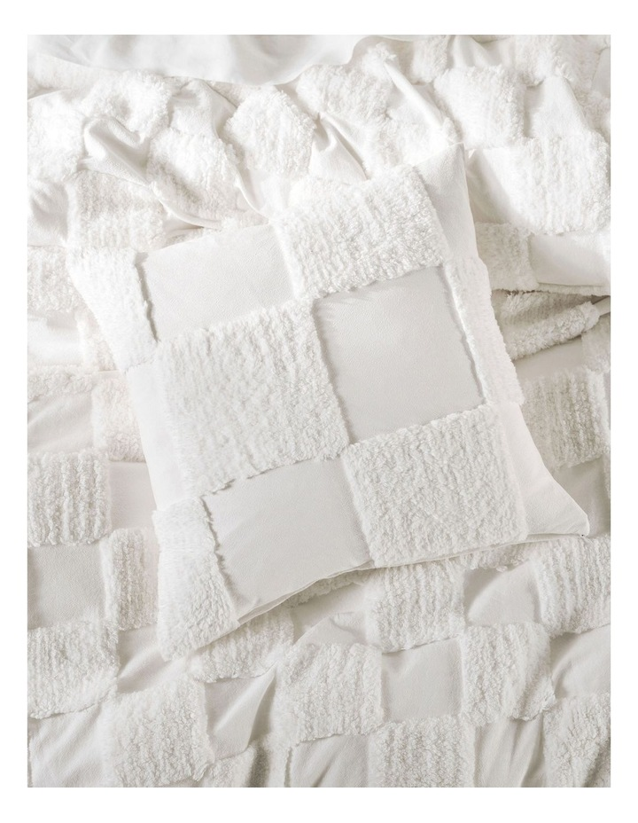 Memphis Quilt Cover Set in White image 6