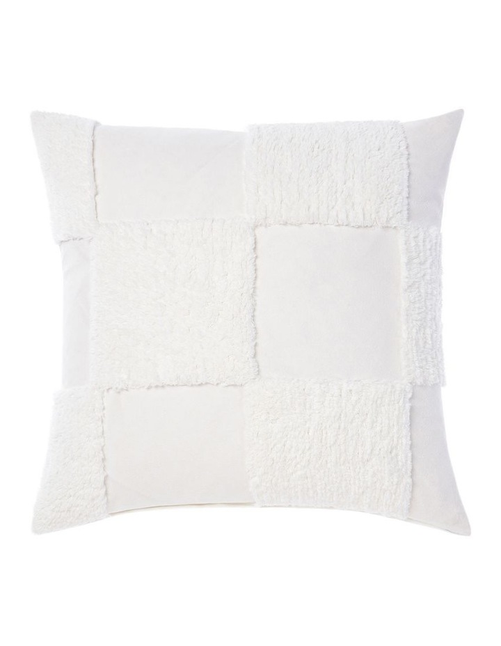 Memphis Quilt Cover Set in White image 7