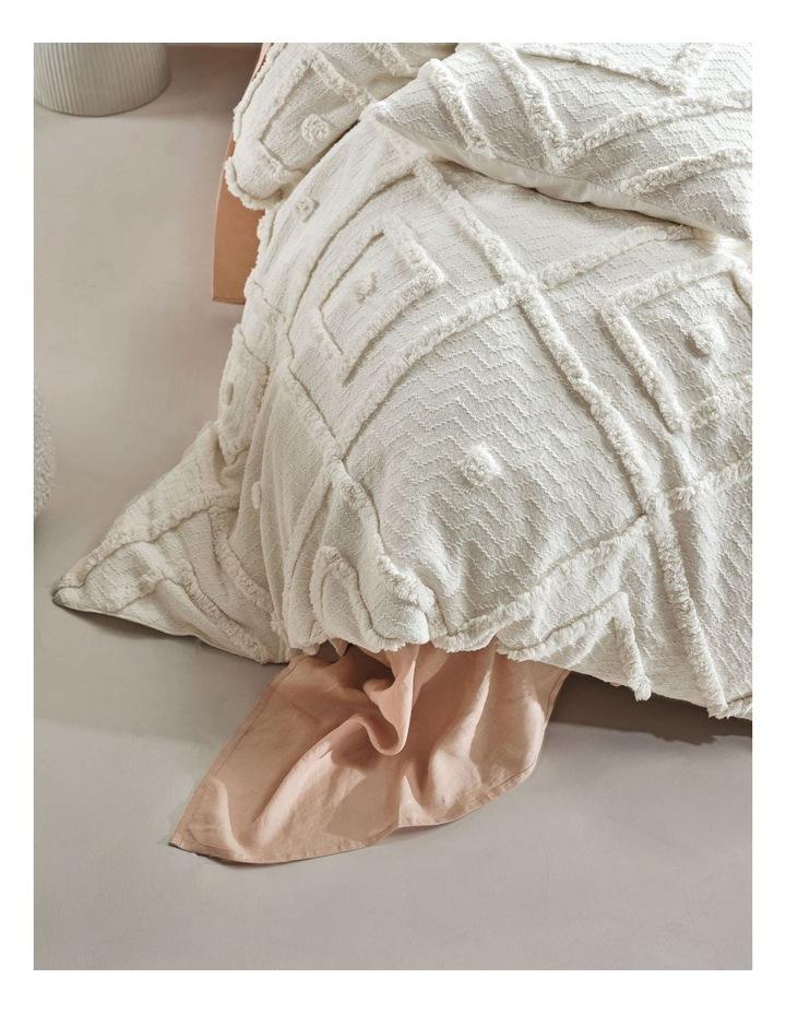 Adalyn Quilt Cover Set in Beige image 3