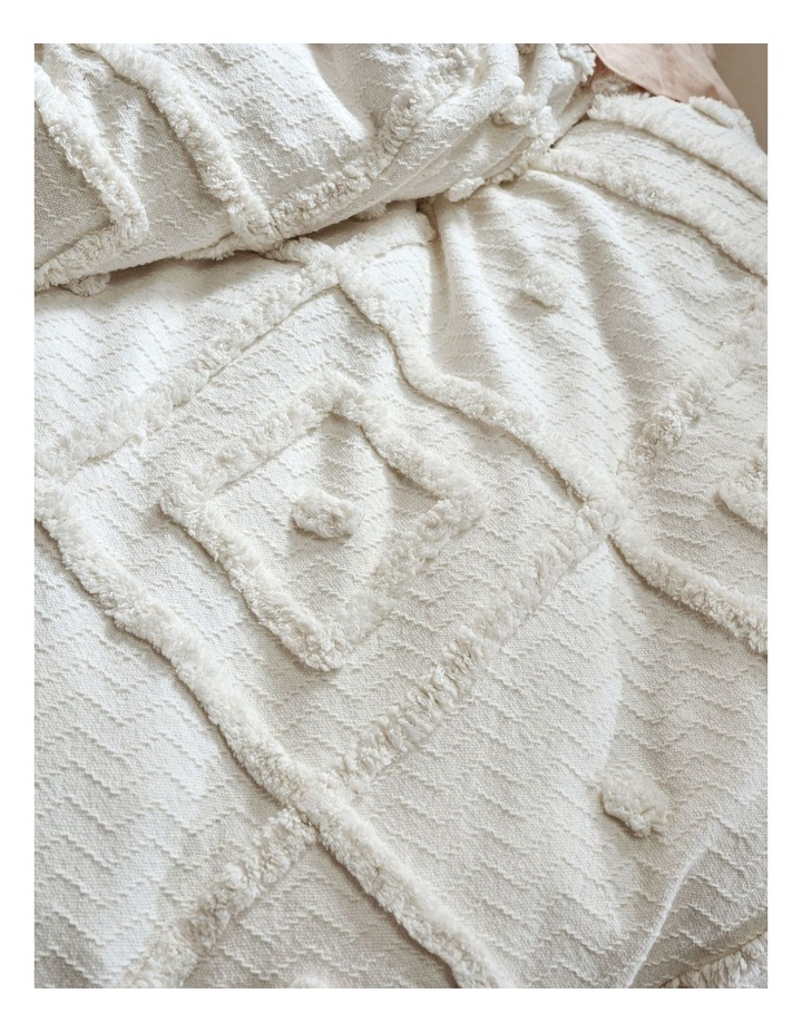 Adalyn Quilt Cover Set in Beige image 4