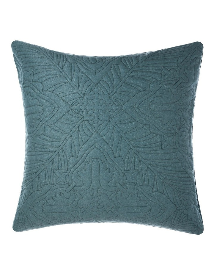 Isadora Quilt Cover Set in Petrol image 3