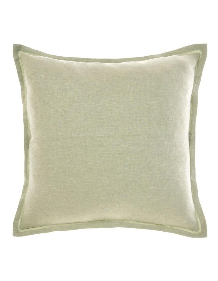 Linen House Nimes Cushion in Wasabi image 1