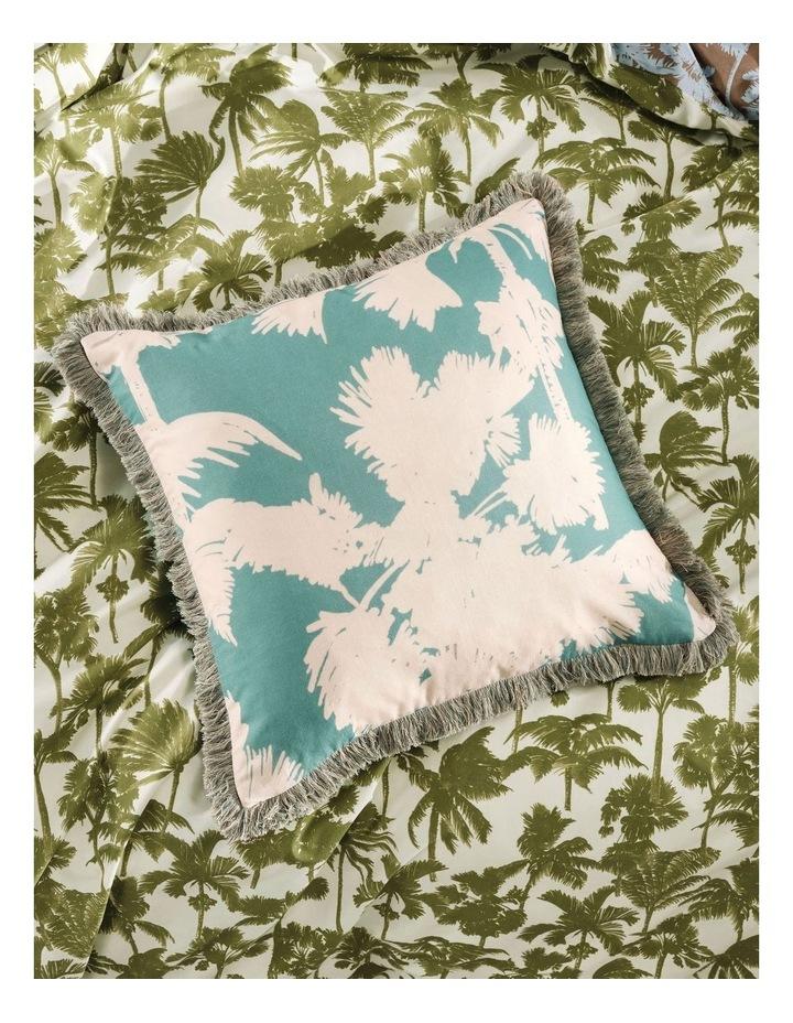 Tourelles Cushion In Leaf image 2