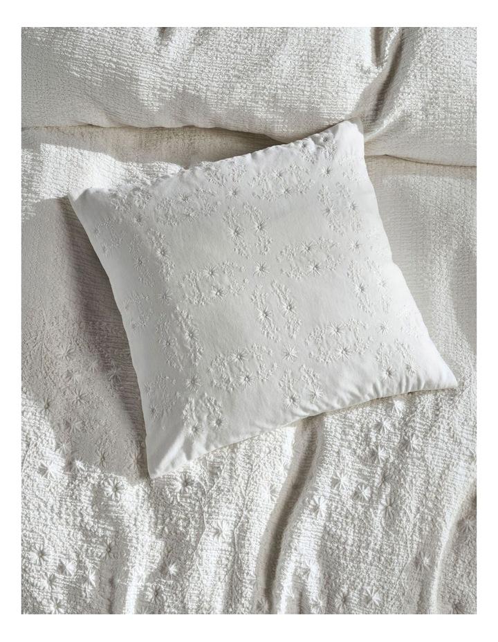 Abigail Cushion In White image 2