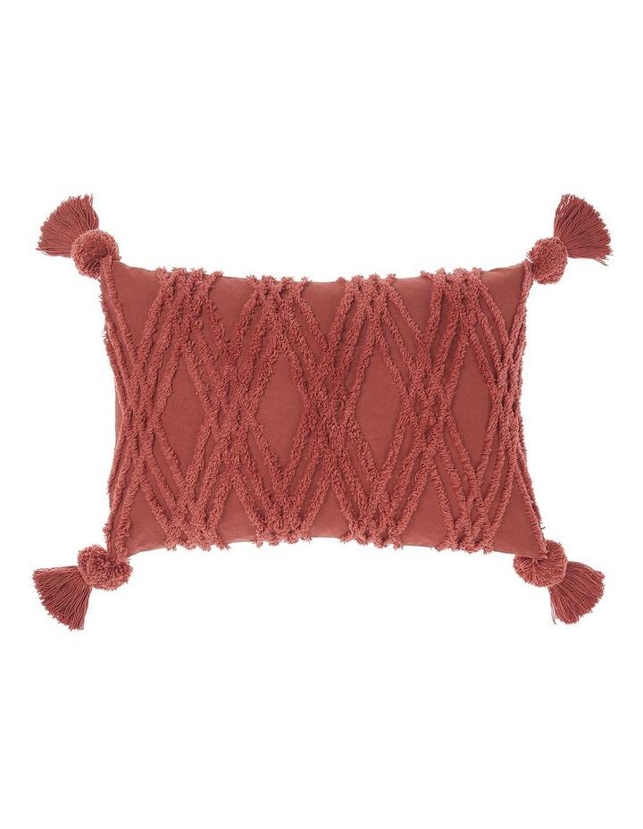 Solange Cushion In Paprika image 1