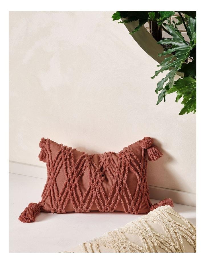 Solange Cushion In Paprika image 2