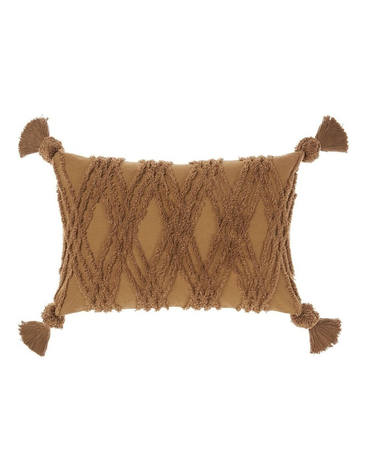Solange Cushion In Hazel image 1