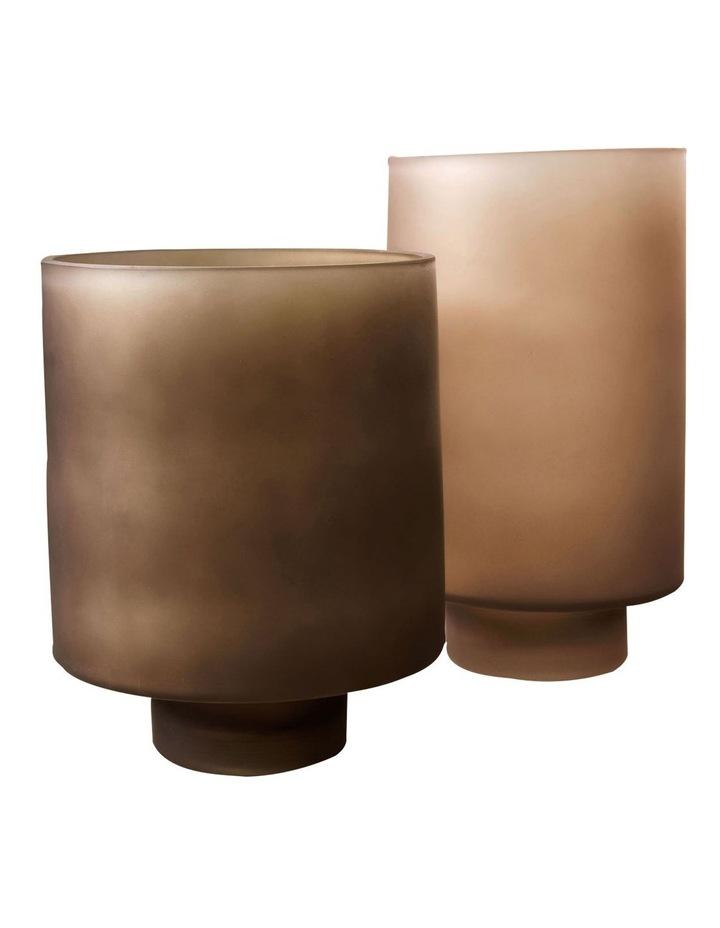 Romano Vase 20cm In Olive image 2