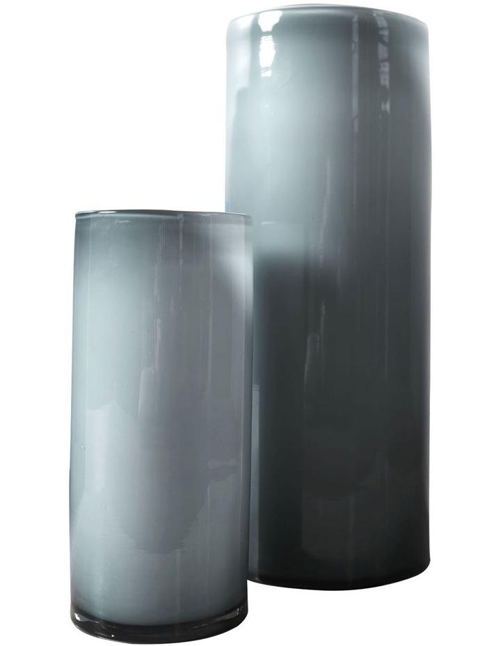 Mirage Vase 24cm In Silver image 2