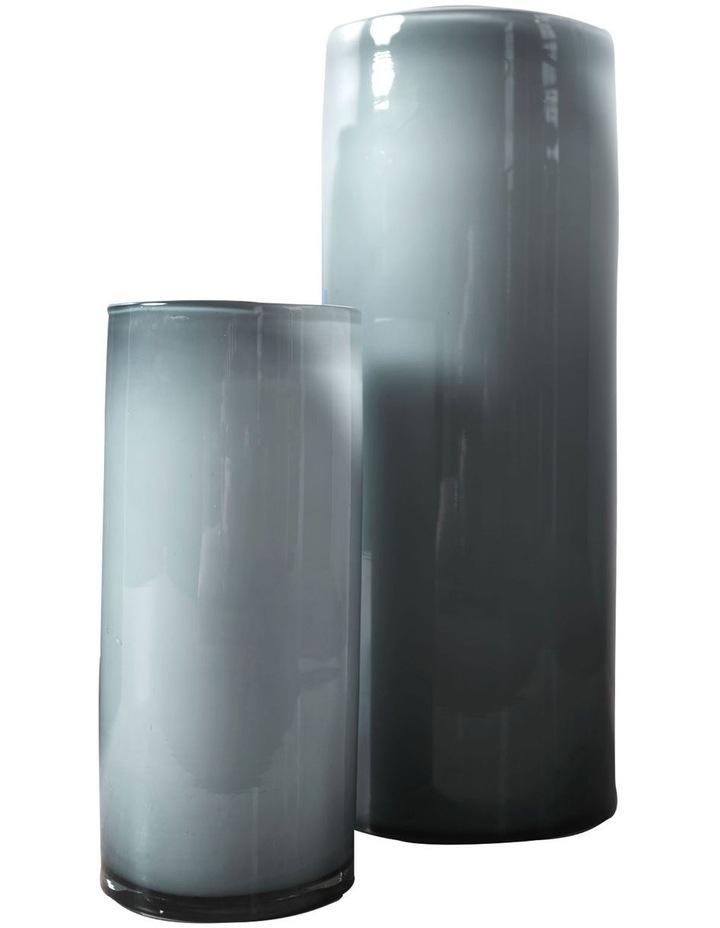 Mirage Vase 35cm In Silver image 2