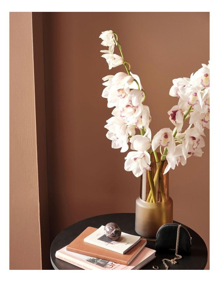 Draper Vase 28cm In Amber image 3