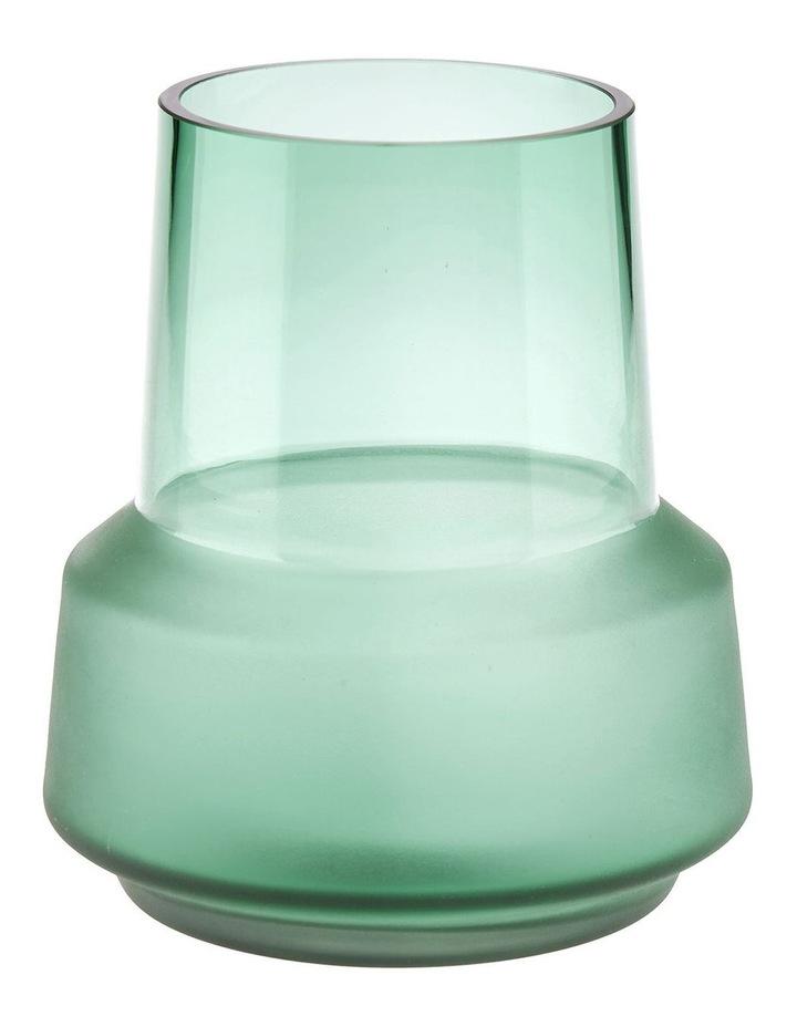 Draper Vase 18cm In Jade image 1