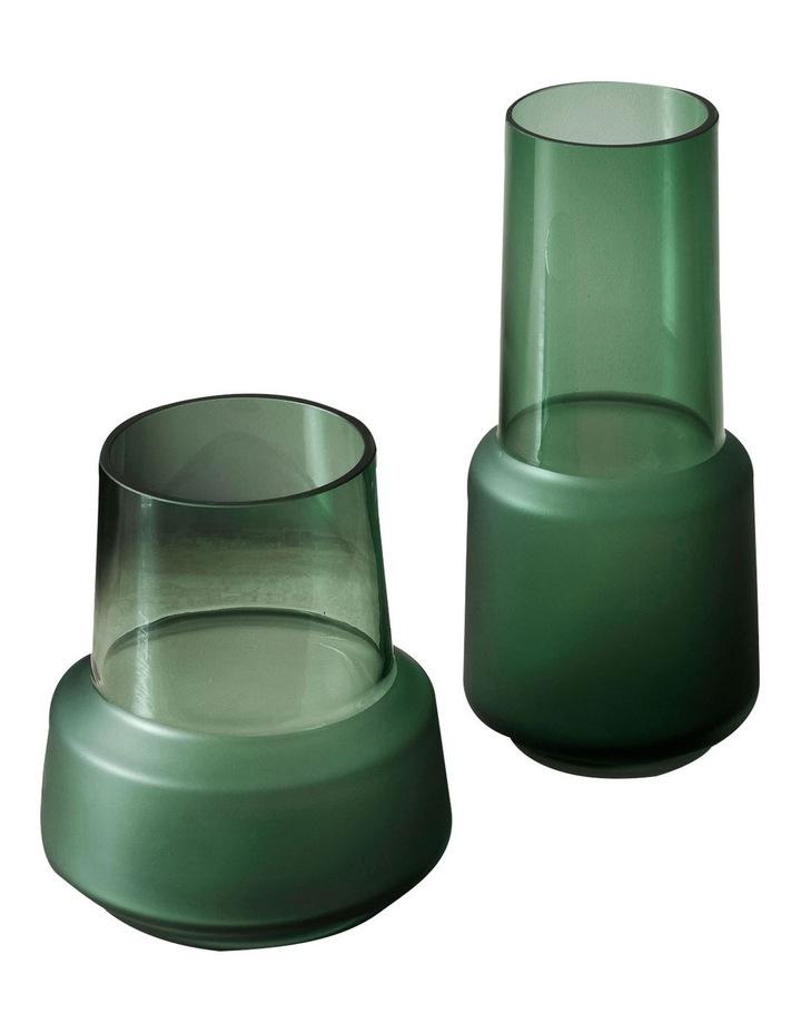 Draper Vase 18cm In Jade image 2