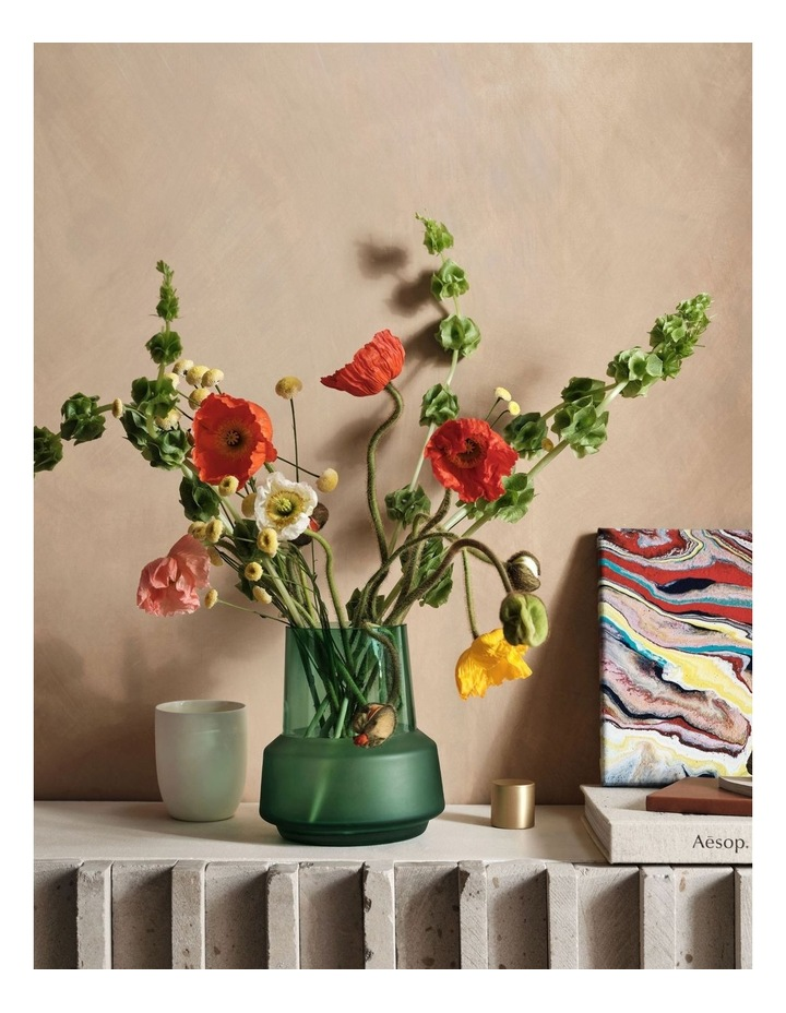 Draper Vase 18cm In Jade image 3