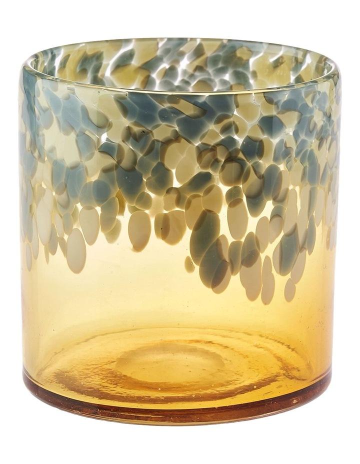 Joan Vase 15cm In Amber image 1